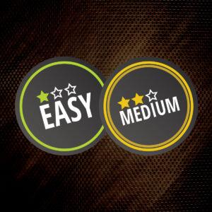 Difficulty - easy/medium