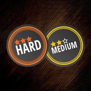 Difficulty - medium/hard